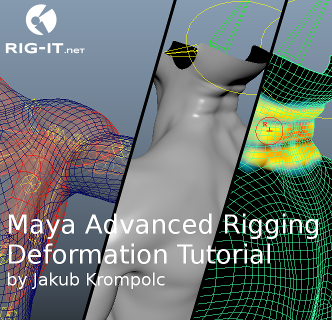 Maya Advanced Rigging Deformation Tutorial – RIG-IT